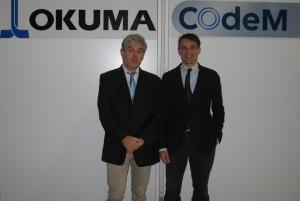 Bernard Besse et Grégoire Chevignard, fondateurs de la société COdeM