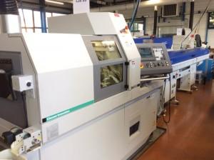 La dernière machine entrée dans l'atelier de la gamme L20-XII avec axe B pour le travail en broche 1 et en broche 2