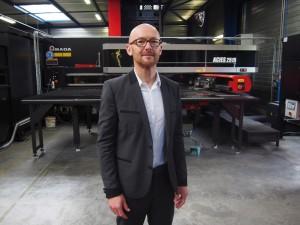 Stéphane Paul, PDG de l'entreprise Tolanjou