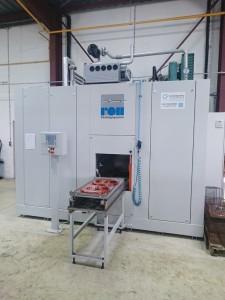 L'an dernier, la société a investi dans une machine haut de gamme de lavage et de dégraissage de marque Roll