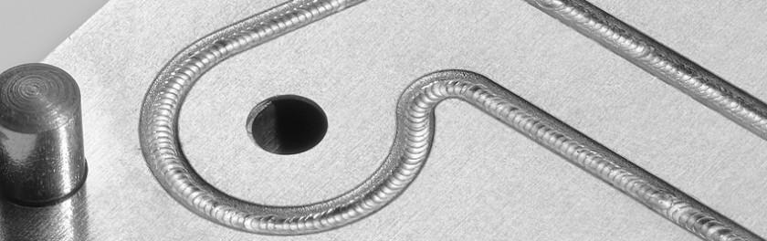 Exemple de cordon de soudure par laser