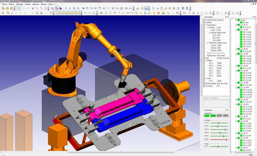 La Programmation Hors Ligne Des Robots De Soudage 224 L Arc