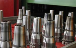 Les Power Shrink Chucks de Haimer sont utilisés lors d'opérations d'ébauche et de finition exigeantes chez – © Haimer