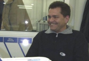 Markus Graber, chef d'équipe d'usinage chez Ruag