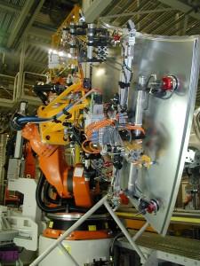 Opération sur robot Kuka