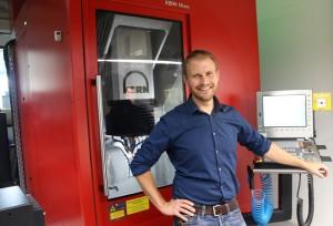 Sebastian Wühr, directeur de l'usine de sous-traitance de Murnau
