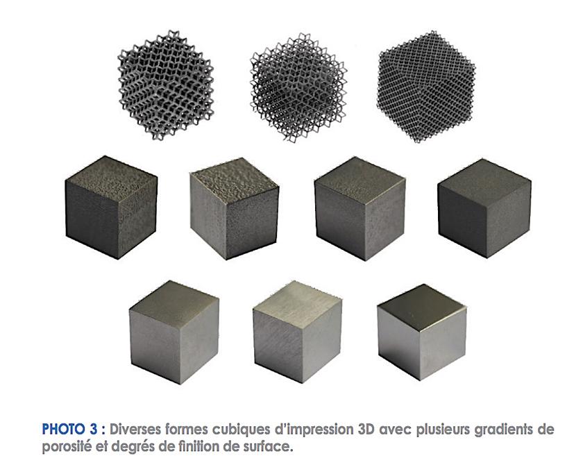 préopératoire fabrication additive